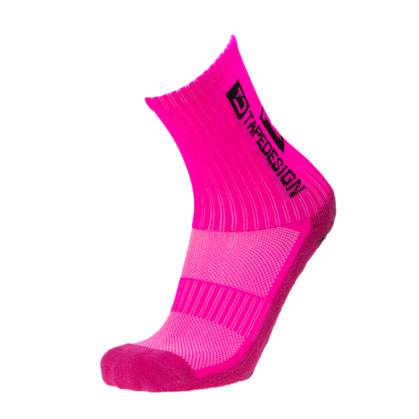 Tapedesign Socks Classic - Neon Pink