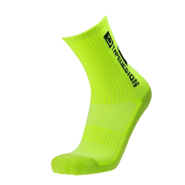 Tapedesign Socks Classic - Neon Yellow